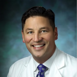 """<p style=""""text-align: left;"""">Dr. Greg Osgood is an assistant professor of orthopaedic surgery at the Johns Hopkins School of Medicine and Chief of Orthopaedic Trauma for the Department of Orthopaedic Surgery. His areas of expertise include orthopaedic trauma, with a special focus on fracture non-unions, pelvis and acetabular injuries, and fractures and surgical infections.</p>"""